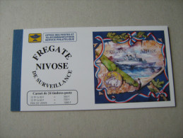 NOUVELLE CALEDONIE  NOS 668:673   CARNET C 668  FREGATE NIVOSE - Libretti