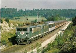 """FRANCE : ANDELOT (39) Train """"LE LUTETIA"""" Double Traction De BB 25500 En Septembre 1980 Détails  2ème Scan - Trains"""