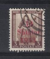 SS6053 - ALBANIA TEDESCA,  3 Q. Bruno Yvert N. 291 Usato . - Albania