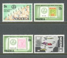 1974 NIGERIA STAMP CENTENARY MICHEL: 300-303 MNH ** - Nigeria (1961-...)