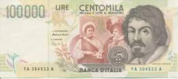 ITALY P. 117a 100000 L 1994 UNC - [ 2] 1946-… : Républic