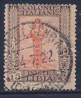 Libya, Scott # 24 Used Diana Of Ephesus, 1921 - Libya