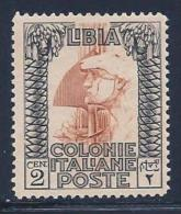 Libya, Scott # 48 Unused No Gum Roman Legionary, 1924 - Libya