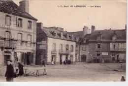Lesneven.. Animée.. Les Hôtels.. Café.. Coiffeur.. échafaudage.. Top Carte.. Carte RARE - Lesneven