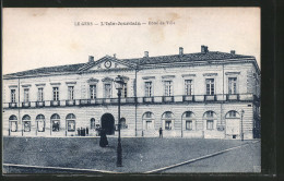 CPA L'Isle-Jourdain, Hôtel De Ville - Sin Clasificación