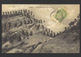 DF / MILITARIA / REGIMENTS / LE 27e CHASSEURS AU COL DE L' ORME ( ALPES DE HAUTE PROVENCE ) - Regiments