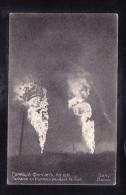 AZE-11 FONTAINE EN FLAMMES PENDANT LA NUIT BACOU - Azerbaïjan