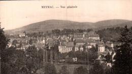 19 MEYMAC VUE GENERALE CIRCULEE 1927 - Otros Municipios