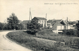 BRENY(AISNE) USINE ELECTRIQUE - France