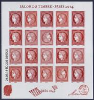 Bloc Cérès 1849 - Salon Planète Timbres 2014  Neuf** - Ongebruikt