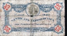 LOTS DE 6 BILLETS CHAMBRE DE PYRENNES O CHALON S SAONE, AUTUN ET LOUHANS, LYON, BAYONNE, LONS LE SAUNIER, MONT DE MARSAN - Chamber Of Commerce