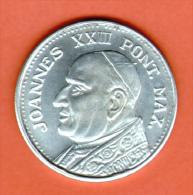 VATICAN - MEDAILLE: JEAN XXIII, JOANNES XXIII PONT MAX - Italia