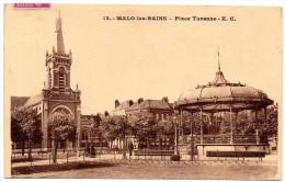 CP, 59, MALO-les-BAINS, Place Turenne, Voyagé En 1933 - Malo Les Bains