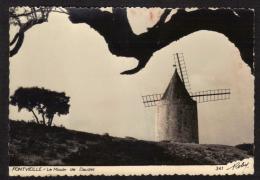 CPSM Pf. Edit. D'Art: ROBY. Dépt (13) FONTVIEILLE. Le Moulin De DAUDET. - Fontvieille