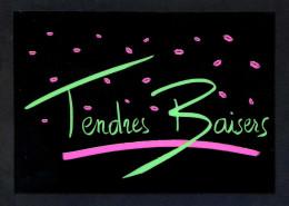 *Tendres Baisers* Ed. Danhilo, Paris Nº 6. Postal Editada En Plástico. Nueva. - Otros