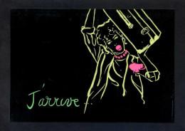 *J'arrive...* Ed. Danhilo, Paris Nº 15. Postal Editada En Plástico. Nueva. - Otros