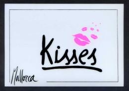 *Mallorca. Kisses* Ed. Sibisa Nº 13. Postal Editada En Plástico. Nueva. - Otros