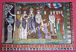 Ansichtskarte Foto Postkarte Italien Ravenna S. Vitale Kaiserin Theodora Mit Ihrem Gefolge - Ravenna