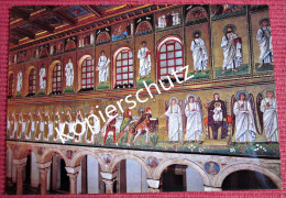 Ansichtskarte Foto Postkarte Italien Ravenna S. Apollinare Nuovo Linke Wand - Ravenna