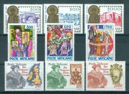 VATICAAN - Mi Nr 864/872 - MNH** - Cote 8,40 € - Vaticaanstad