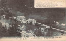15 - Le Lioran - Panorama Des Hôtels Et De La Gare - Otros Municipios