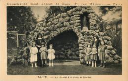 TAHITI - LE CHAPELET A LA GROTTE DE LOURDES   - PRIX FIXE !!! - Tahiti
