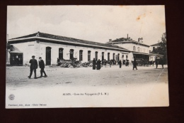 1 CP ALAIS Gare Des Voyageurs ( P L M ) - France