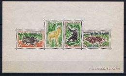 Cote D'Ivooire, 1963 Block Nr 2, MNH/** Has A Very Light Fold, Brownish Paper - Ivoorkust (1960-...)