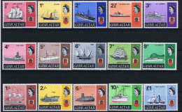 Gibraltar, 1967  Mi 188-201  + 224 SG 186-199, MNH/** - Gibraltar