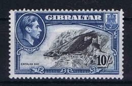 Gibraltar, 1938  Mi 116 D, SG  130 A MNH/**  Perfo 13 - Gibraltar