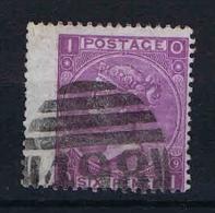 UK: 1867 Yvert 34, Used , Has A Light  Horizontal Fold - Gebruikt