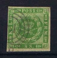 Denmark: 1858, Mi Nr 8 Used With Nice Margins - Gebruikt