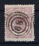 Denmark: 1864, Mi Nr 12 A, Yv. 12  Used Perfo 13, - 1864-04 (Christian IX)