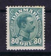 Denmark: 1913, Mi Nr 74 MH/* - 1913-47 (Christian X)