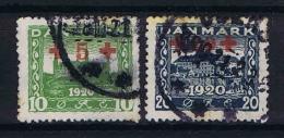 Denmark: 1931 M1. 116-117, Yv. 130-131, Used Red Cross - 1913-47 (Christian X)
