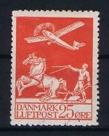 Denmark: Airmail 1925  Mi 145, Used - Luchtpostzegels