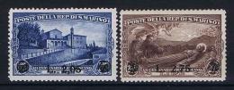 San Marino: 1936,  Mi 230-231, MNH/** - San Marino