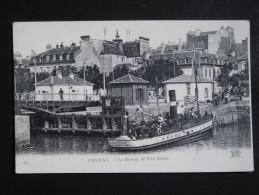 CPA - LORIENT - LE BATEAU DE PORT LOUIS - Lorient
