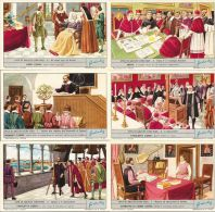 FIGURINE LIEBIG CHROMO ITA VITA DI GALILEO 1966 SANGUINETTI 1812 - Liebig