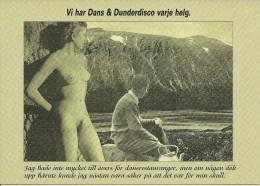 PUBLICITE SOS  BOKA DIN DUNDERRESA  DUNDRET 2000 FEMME NUE  PAYSAGE EDIT ?? SUEDE?? - Reclame