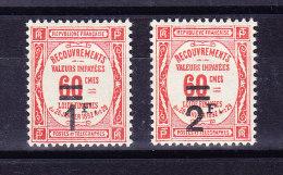 1926 - Portomarken Mi # 55 + 56 ** - Taxes