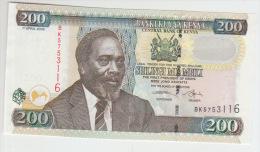 Kenya 200 Shilingi 2006 Pick 49 UNC - Kenia