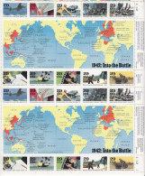 C012 - ETATS UNIS UNITED STATES Yv N°2099/108 ** WORLD WAR II  ( Registered Shipment Only ) - Ungebraucht