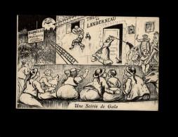 29 - LANDERNEAU - La Lune - Carte Humoristique - Landerneau