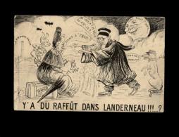 29 - LANDERNEAU - La Lune - Carte Humoristique - Justice - Landerneau