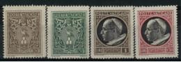 *A1* -  VATICANO 1945 - Medaglionicini . Stemma O Effigie Di Pio XII. 2° Serie - Lotticino  4 Val. MN* S.G. - Belli - Unused Stamps