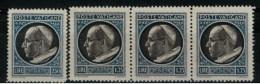 *A1* -  VATICANO 1945 - Medaglionicini . Stemma O Effigie Di Pio XII. 2° Serie - 4 Val. MN* S.G. - Belli - Unused Stamps
