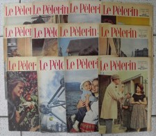 12 N° Le Pélerin 1958. Pat´apouf Gervy. Mixi-Berel. Tati Mon Oncle - Magazines