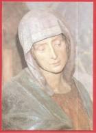 SANTINO - Immaginetta - La Madonna Della Passione - 10 X 15 - CARTOLINA - Santini