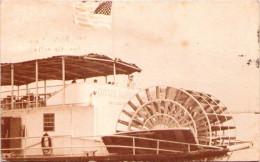 LOUISIANA - Paddle Boat On The Mississipi - Carte-photo - Etats-Unis